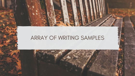 Fresh Copywriter - Miami Copywriter - Array of Writing Samples