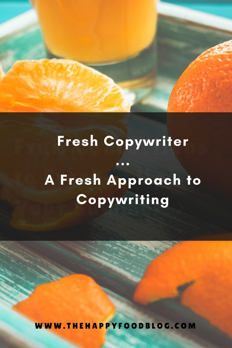 Footer - Fresh Copywriter...A Fresh Approach to Copywriting